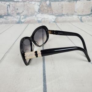SOSPIRI Delia Sunglasses Black Swarovski Italy